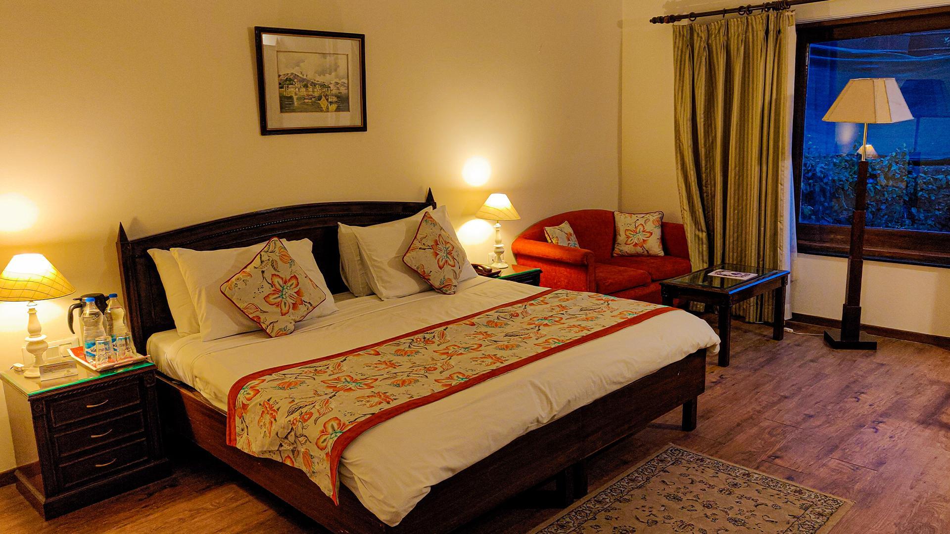 Superior Room image 1 at WelcomHeritage Kasmanda Palace Mussoorie by Dehradun, Uttarakhand, India