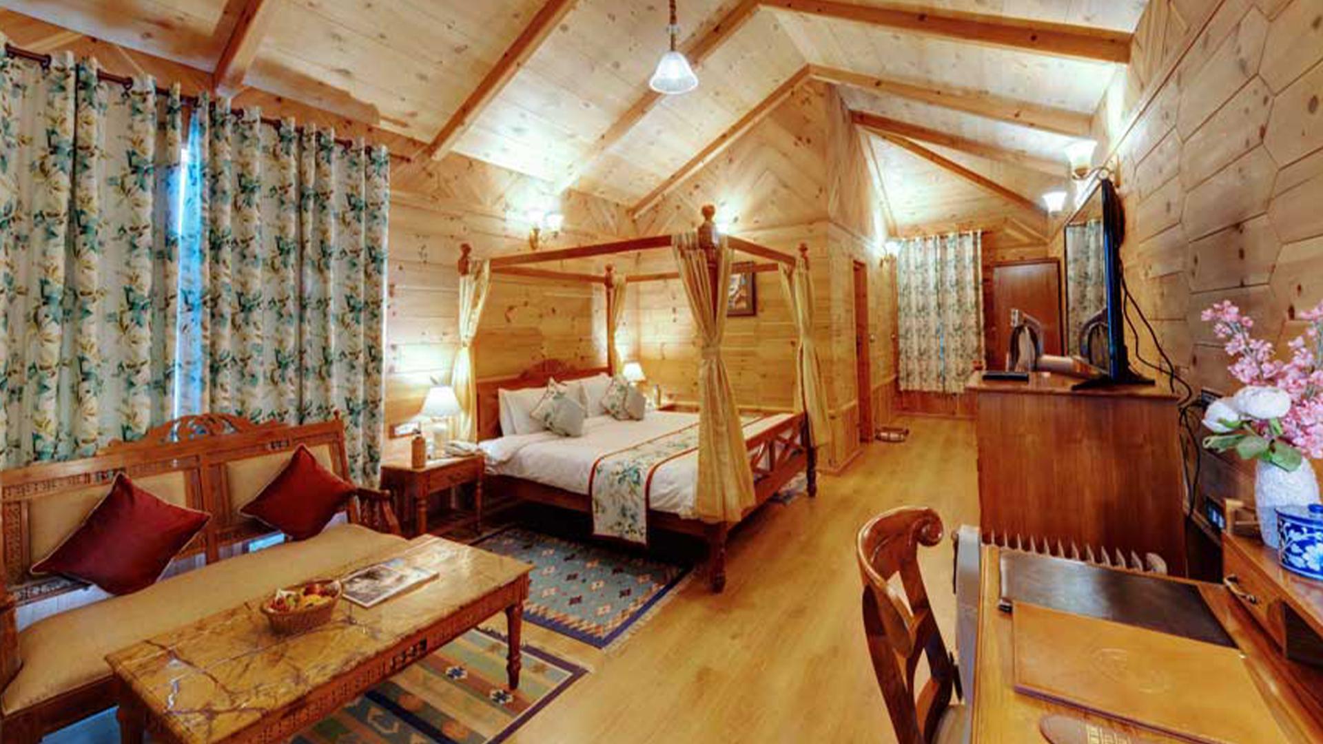 Superior Room image 1 at WelcomHeritage Urvashi's Retreat by Kullu, Himachal Pradesh, India