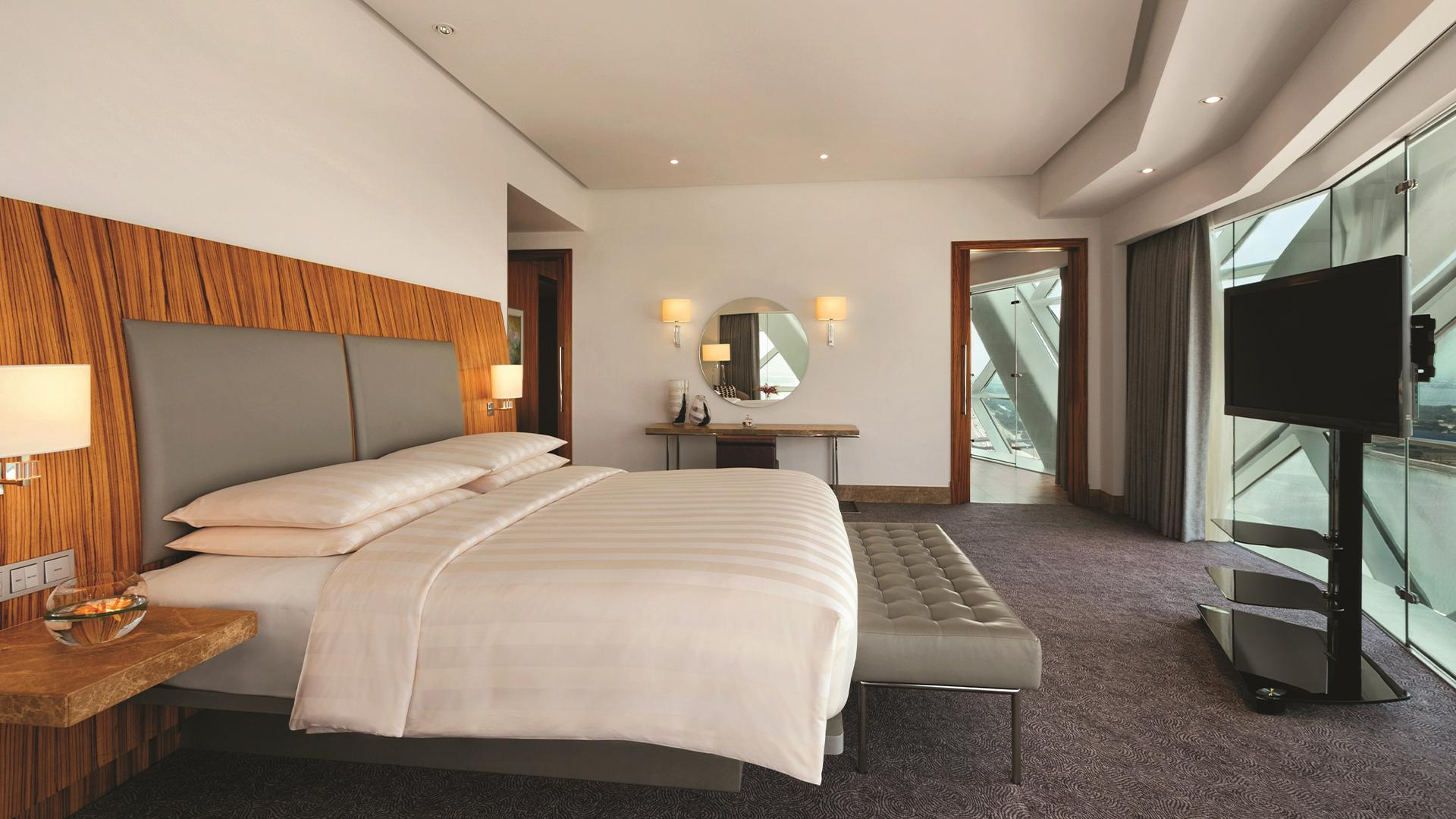 Capital Suite image 1 at Andaz Capital Gate, Abu Dhabi — a concept by Hyatt by null, Abu Dhabi, United Arab Emirates