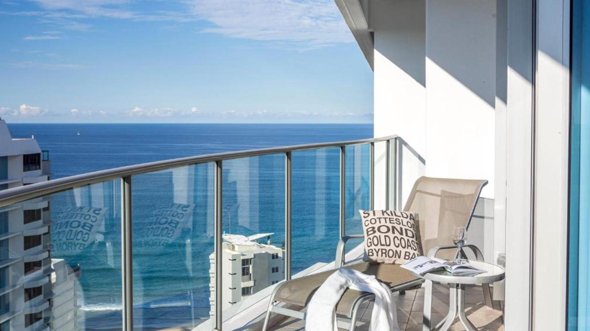 Two-Bedroom Superior Ocean View image 1 at Artique Surfers Paradise by City of Gold Coast, Queensland, Australia