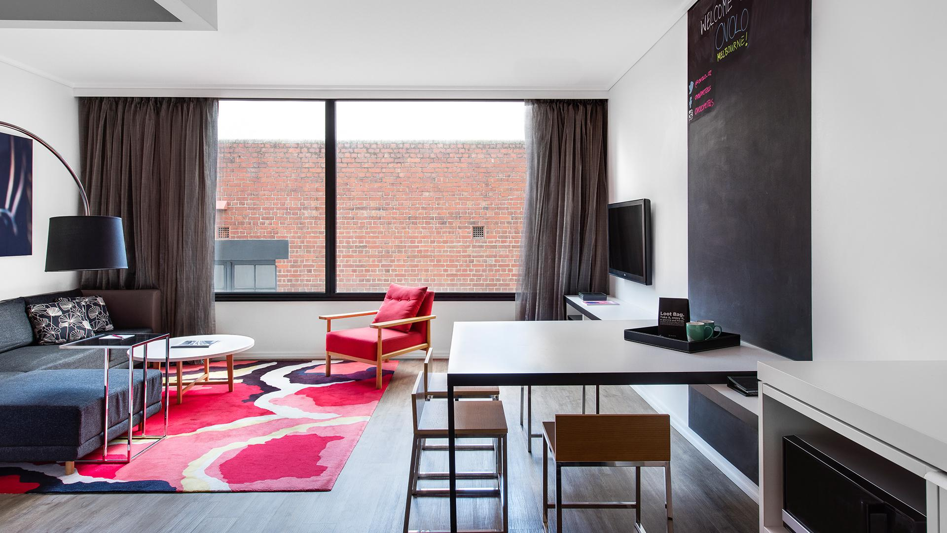 Two-Bedroom Suite image 1 at Ovolo Laneways by Melbourne City, Victoria, Australia