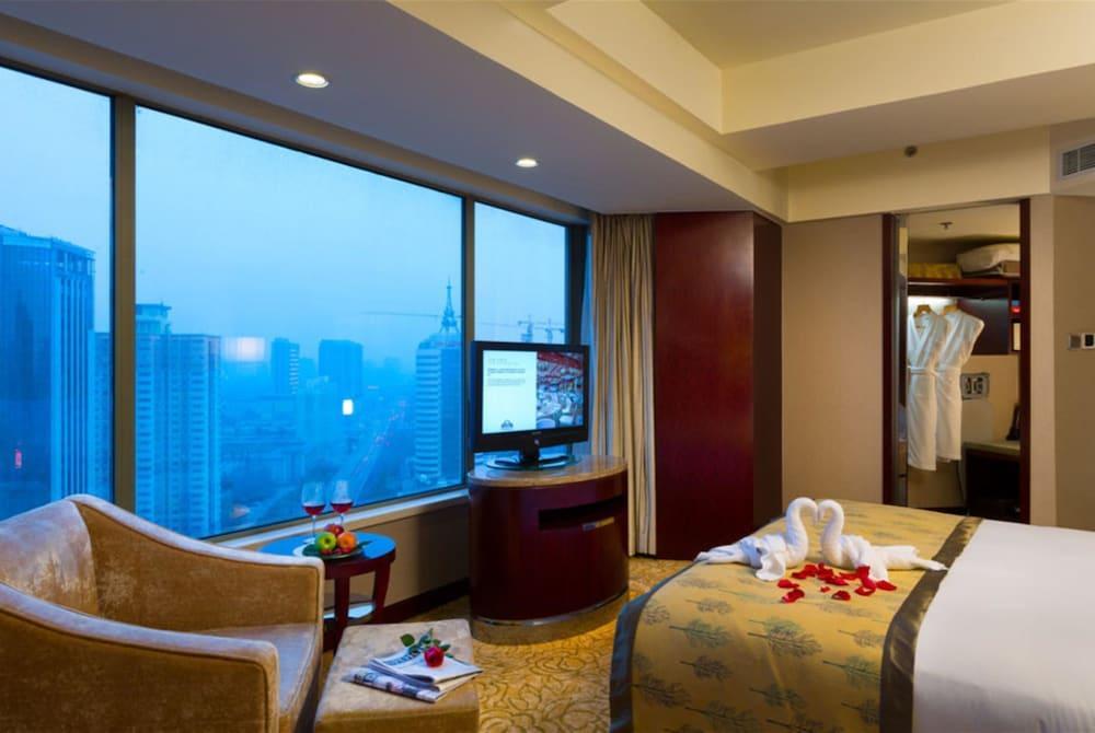 image 1 at Wyndham Hotel Xian by No.189 Jinhua North Road, New Town Xi'an Shaanxi 710032 China
