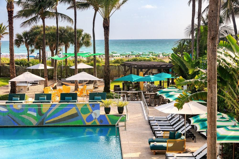 image 1 at Kimpton Surfcomber Hotel, an IHG Hotel by 1717 Collins Avenue Miami Beach FL Florida 33139 United States