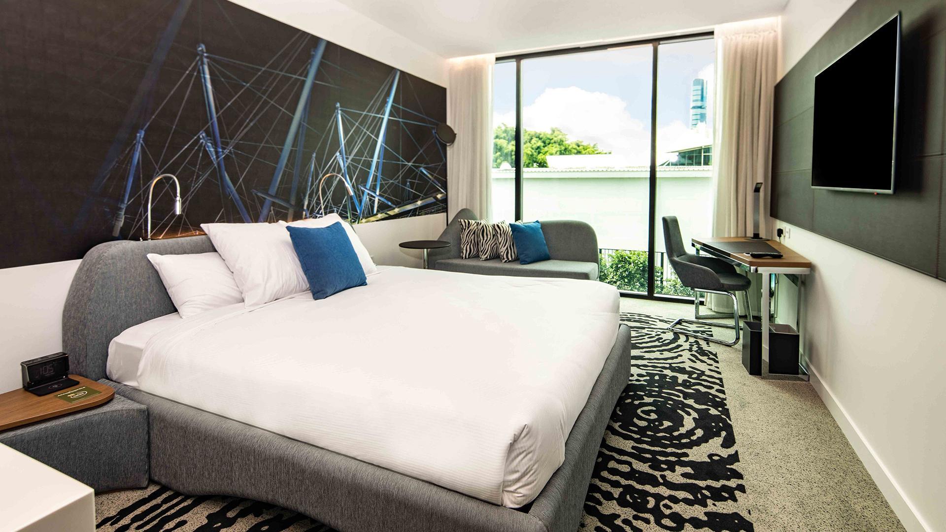 King 'N' Room image 1 at Novotel Brisbane South Bank by Brisbane City, Queensland, Australia