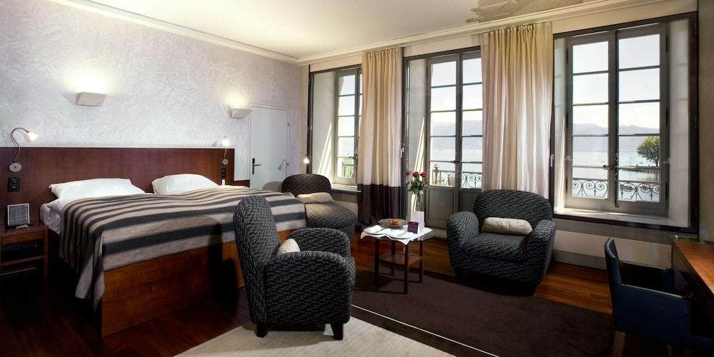 image 1 at Hotel Angleterre And Residence by Place du Port, 11 Lausanne VD 1006 Switzerland