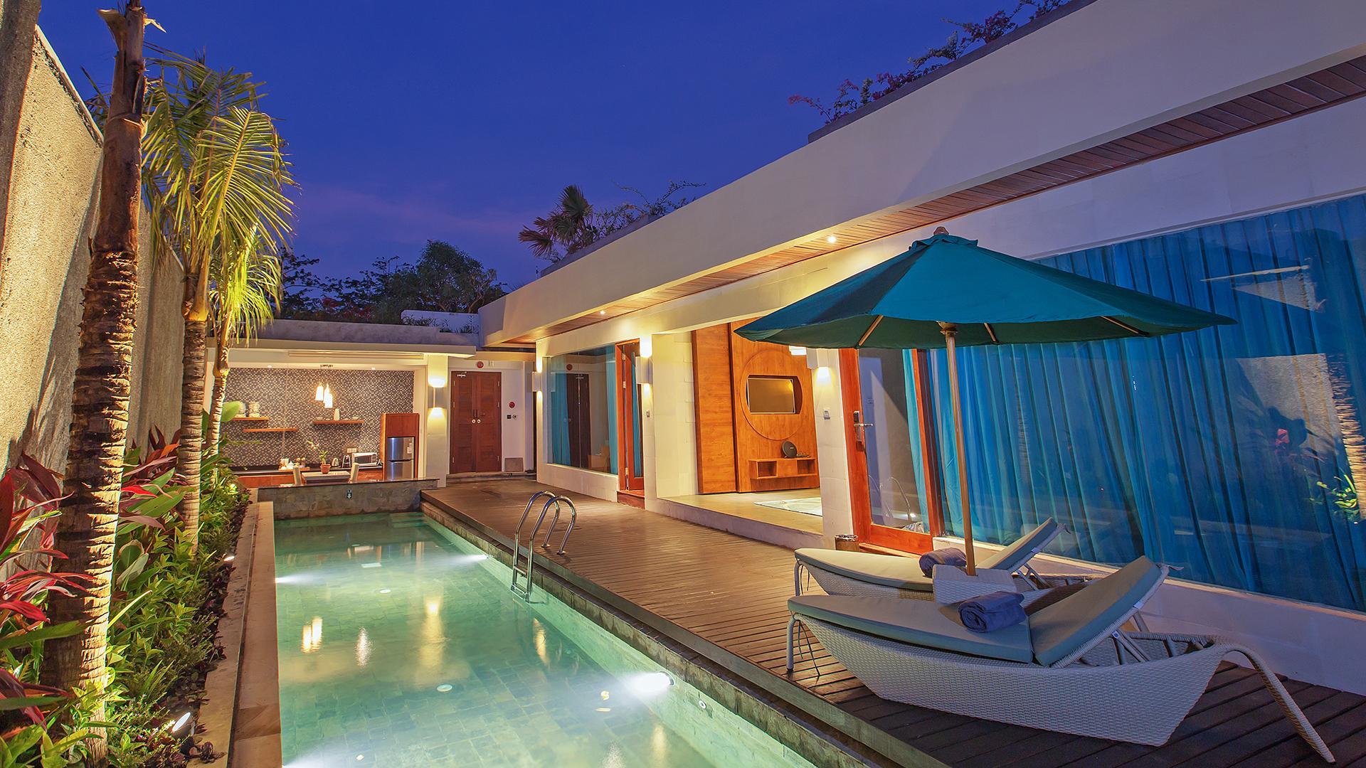 Sage Two-Bedroom Pool Villa image 1 at The Leaf Jimbaran by Kabupaten Badung, Bali, Indonesia