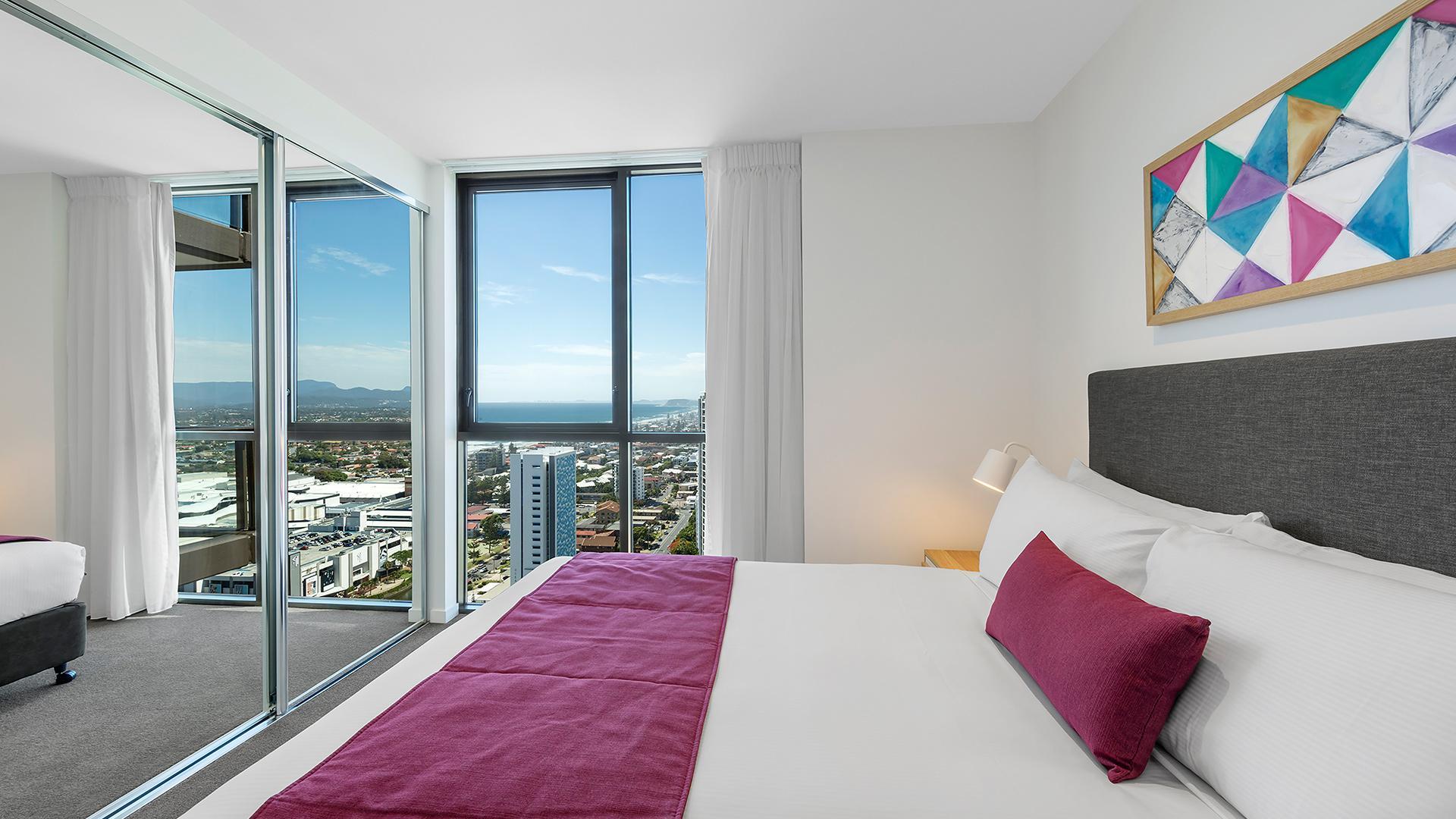 One-Bedroom Ocean-View Suite image 1 at AVANI Broadbeach Gold Coast Residences by City of Gold Coast, Queensland, Australia