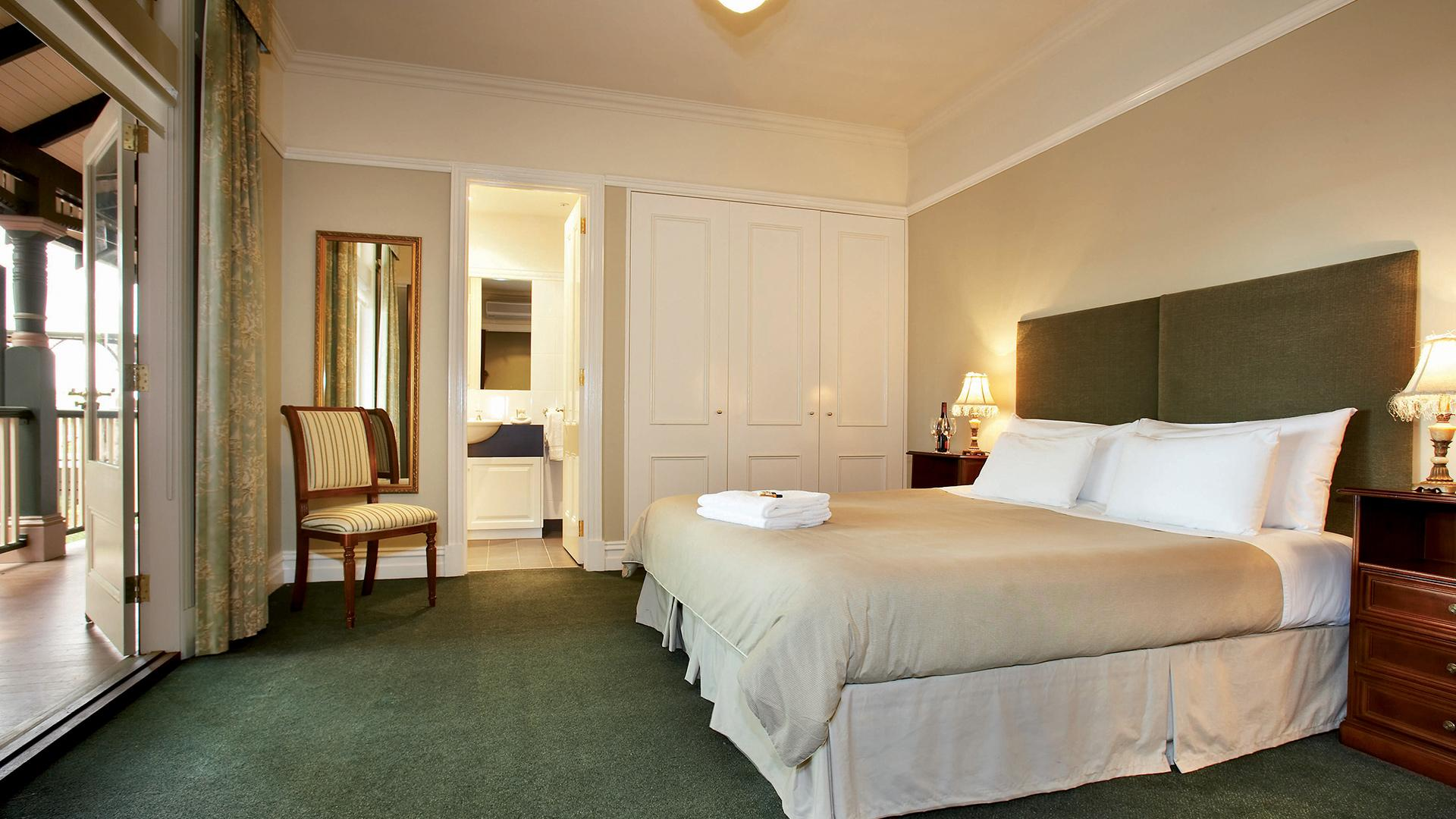 Standard Room image 1 at Bellinzona Resort by Hepburn Shire, Victoria, Australia