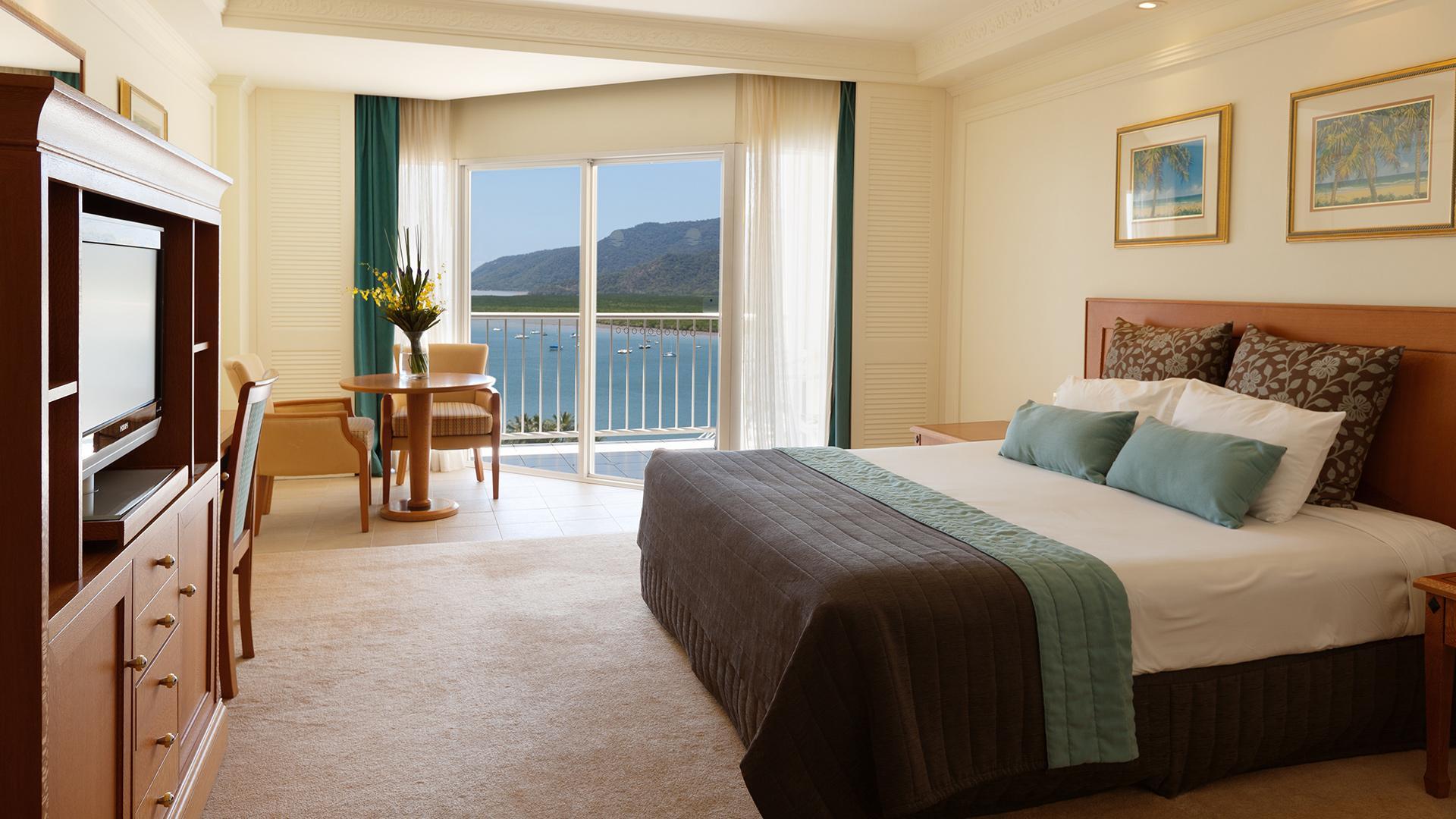Premium Harbour View Room image 1 at Pullman Cairns International by Cairns Regional, Queensland, Australia