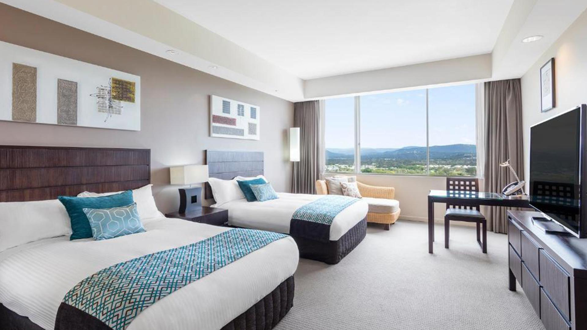 Executive Twin Room image 1 at RACV Royal Pines Resort by City of Gold Coast, Queensland, Australia