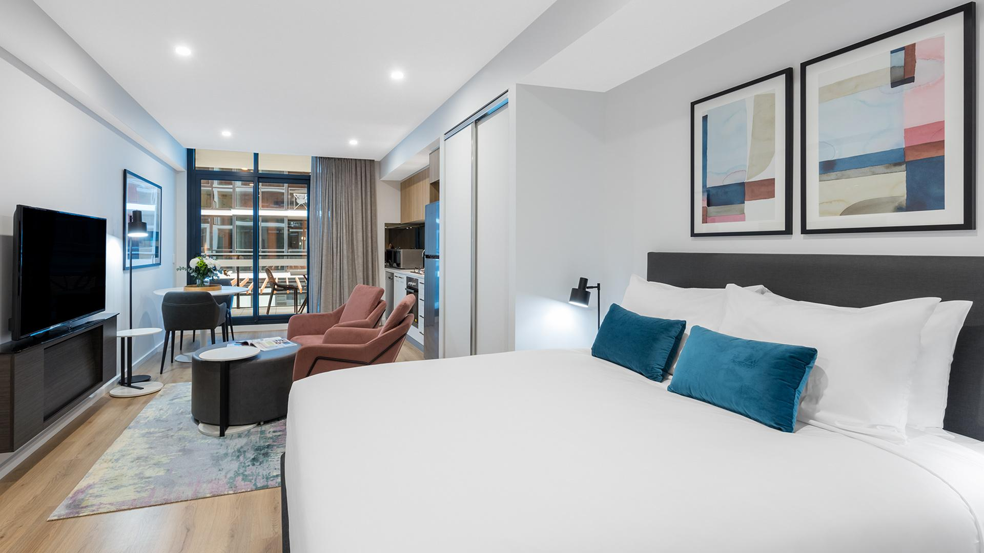 Avani Room image 1 at Avani Adelaide Residences by Adelaide City Council, South Australia, Australia