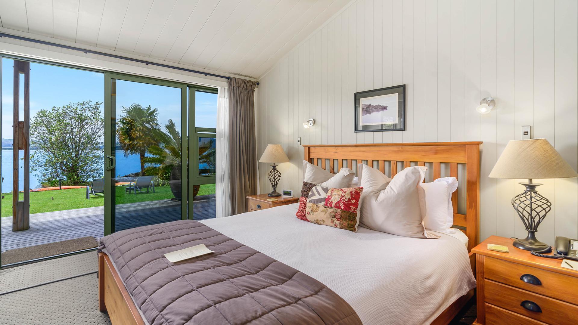 Lodge Room image 1 at Koura Lodge by null, Bay of Plenty, New Zealand