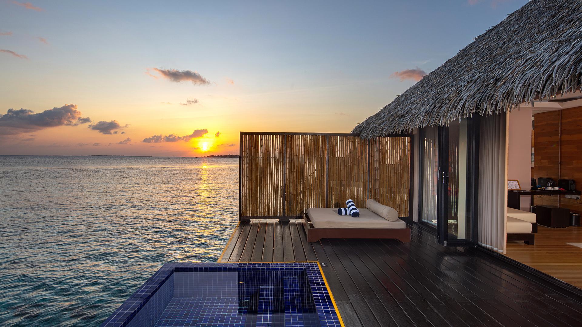 Sunset Water Villa image 1 at Adaaran Prestige Vadoo by Kaafu Atoll, North Central Province, Maldives