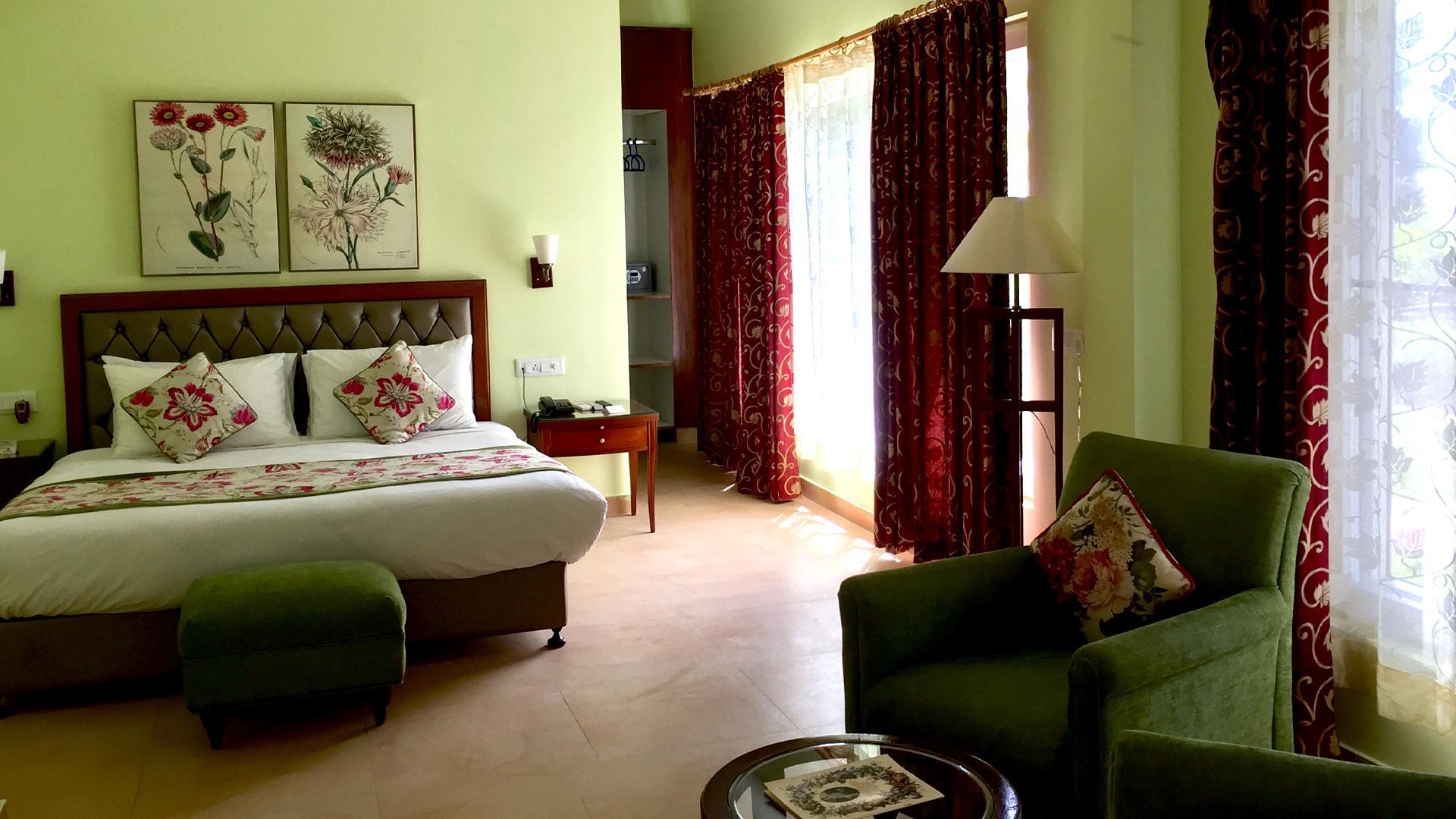 Garden Villa Suite image 1 at WelcomHeritage Kasmanda Palace Mussoorie by Dehradun, Uttarakhand, India
