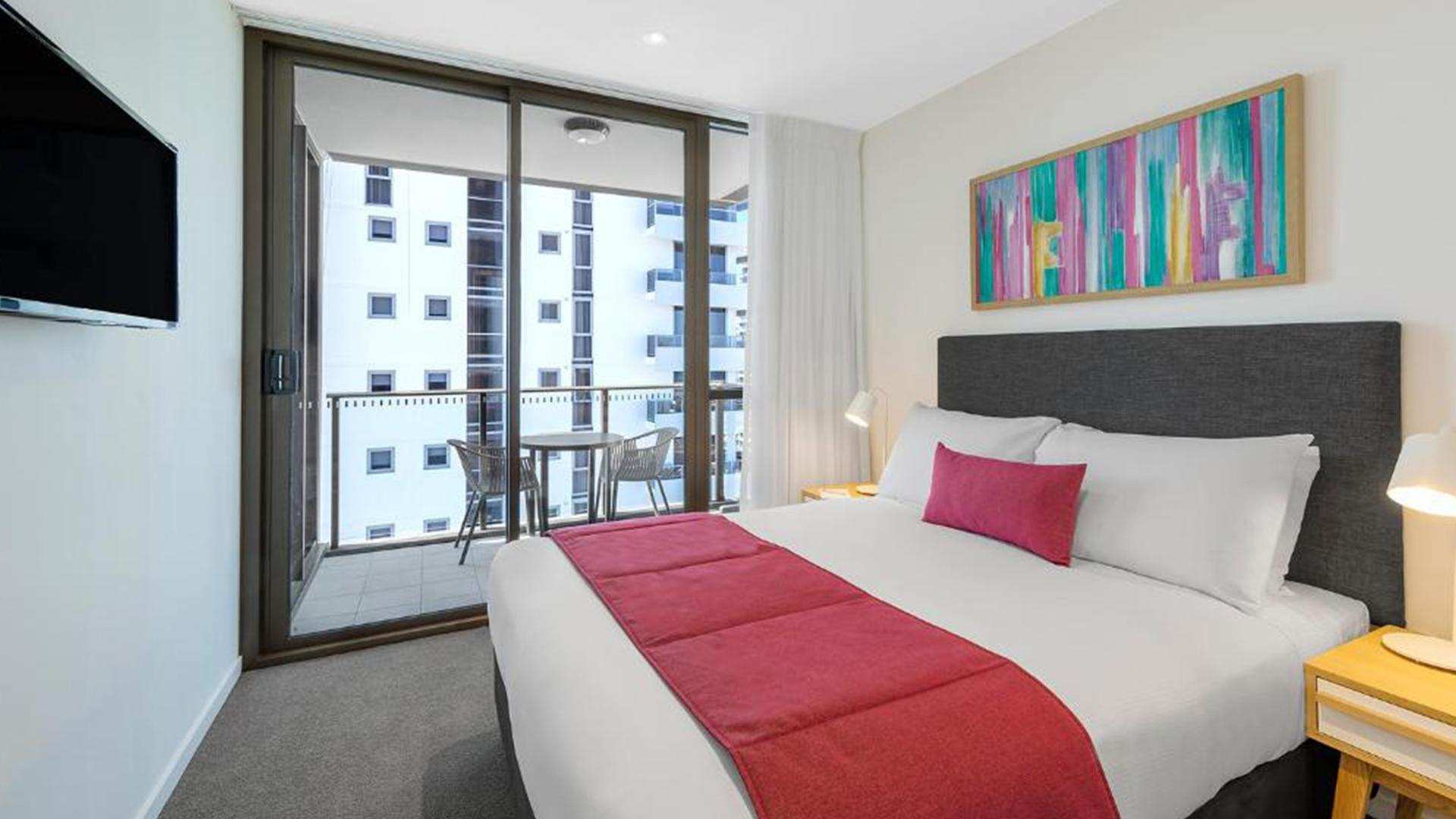 One-Bedroom Suite image 1 at AVANI Broadbeach Gold Coast Residences by City of Gold Coast, Queensland, Australia