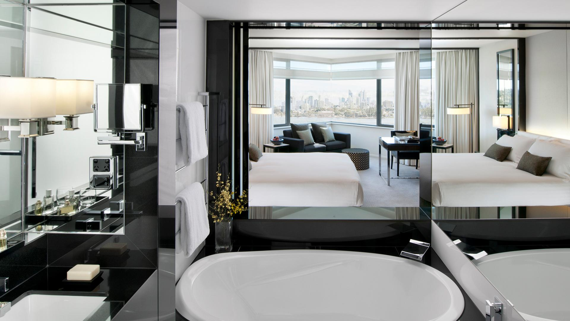Luxe King Room image 1 at Crown Metropol Perth by Town of Victoria Park, Western Australia, Australia