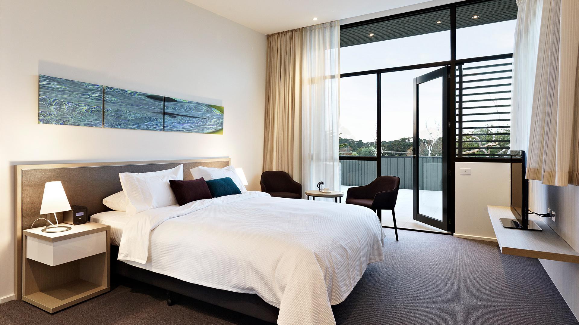 Flinders Room image 1 at Quarters at Flinders Hotel by Shire of Mornington Peninsula, Victoria, Australia