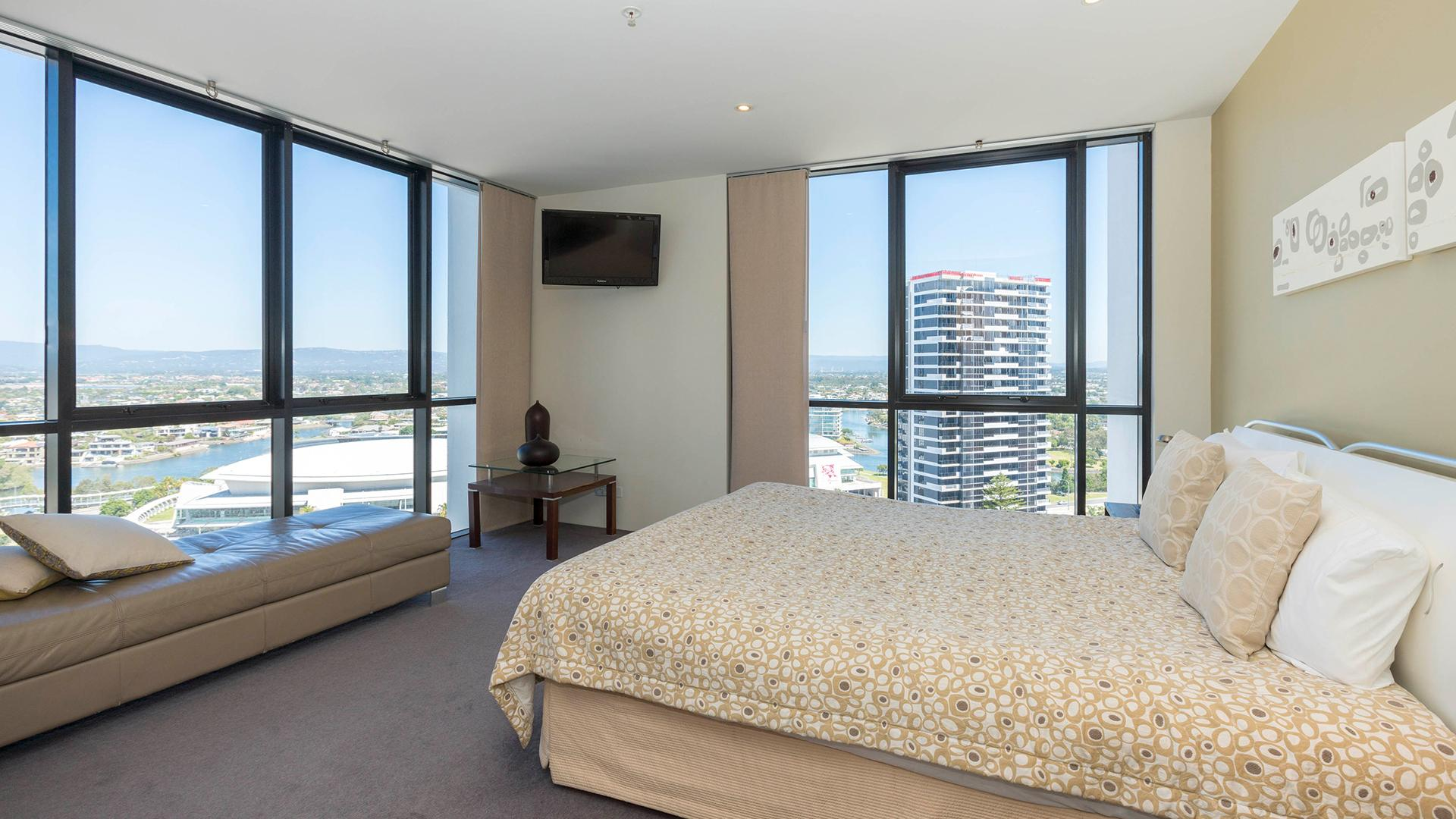 Three-Bedroom Ocean-View Apartment image 1 at Aria Apartments  by City of Gold Coast, Queensland, Australia