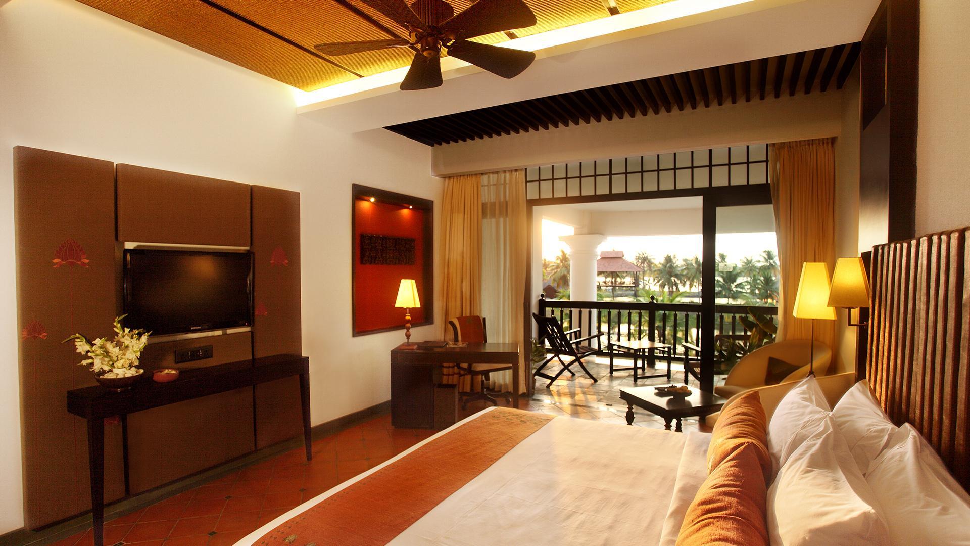 Superior Room with Balcony image 1 at Vasundhara Sarovar Premiere by Alappuzha, Kerala, India