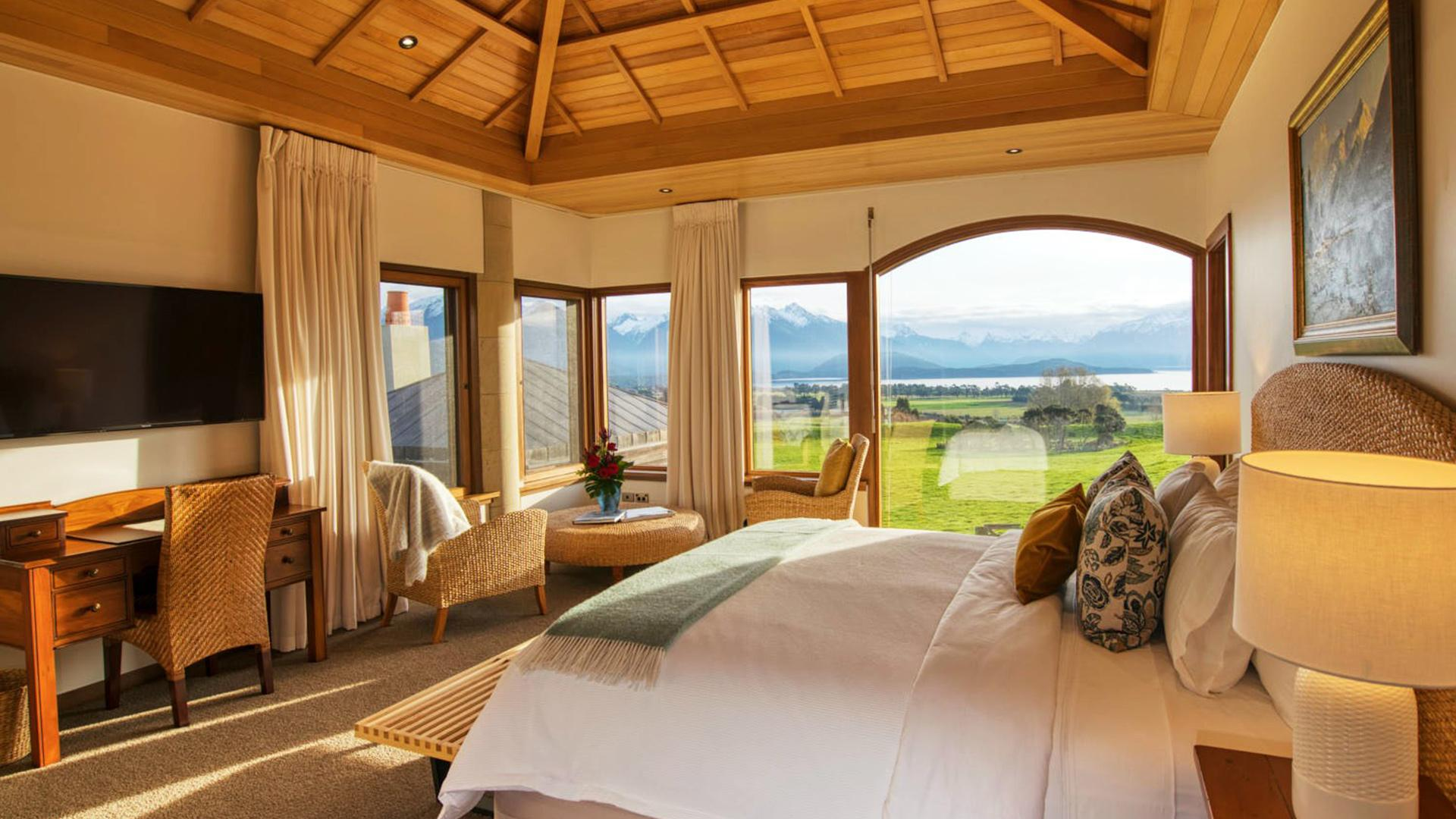 Premier Suite Winter Escape image 1 at Cabot Lodge by null, Southland, New Zealand