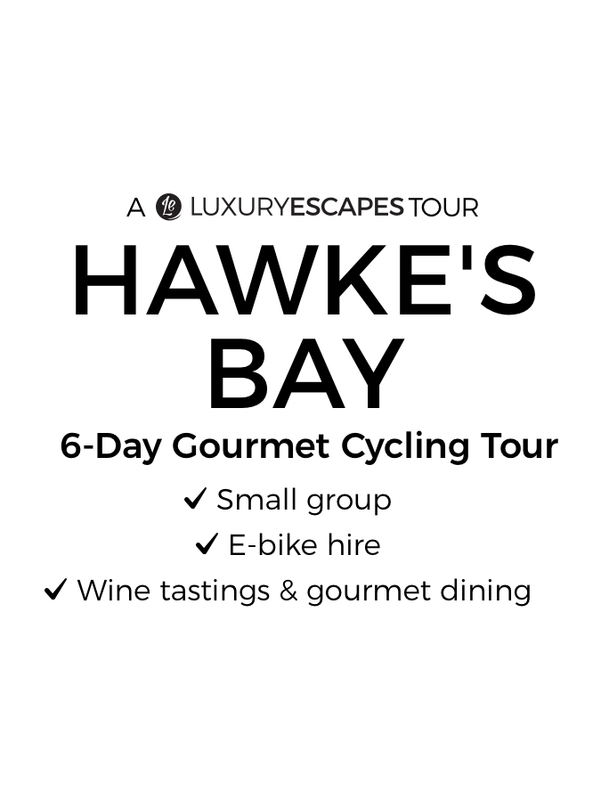Hawke's Bay: 6-Day Small-Group E-Bike Cycling Tour with Wine Tastings & Five-Course Degustation