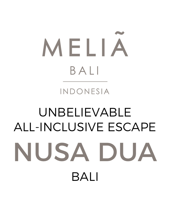 Our Best Meliá Bali Deal Ever: All-Inclusive Indulgence with Suite Upgrade & The Level Club Access