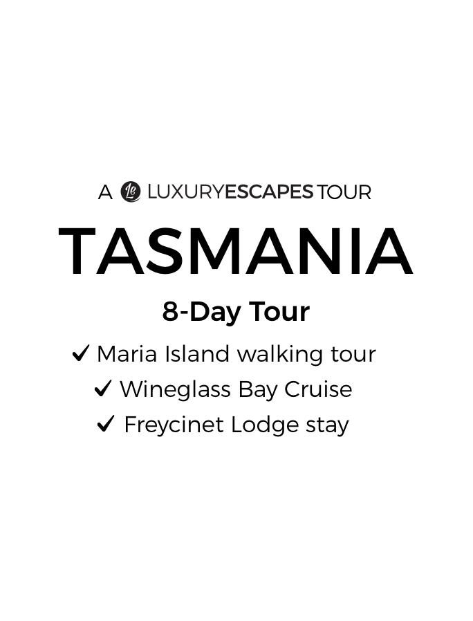 Tasmania 2022: 8-Day Small-Group Tour with Maria Island 4-Day Walk, Freycinet Lodge Stay & Luxury Wineglass Bay Cruise