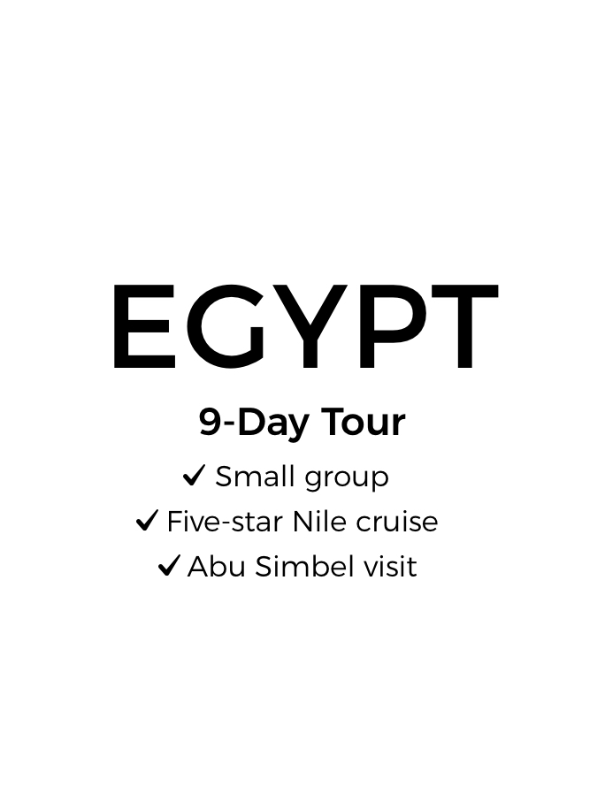 Egypt's Ancient Wonders: 9-Day Luxury Small-Group Tour with Five-Star Nile Cruise, Abu Simbel & Internal Flights