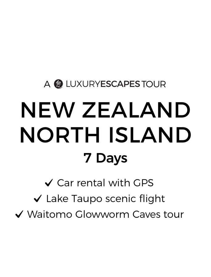 New Zealand's North Island: 7-Day Self-Drive Tour with Lake Taupo Helicopter Flight & Hawke's Bay Wine Tasting