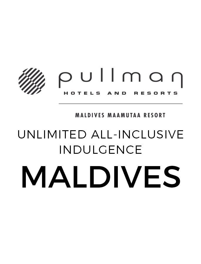 Ultimate All-Inclusive Pullman Maldives Villas with Unlimited Drinks & Roundtrip Malé Flights