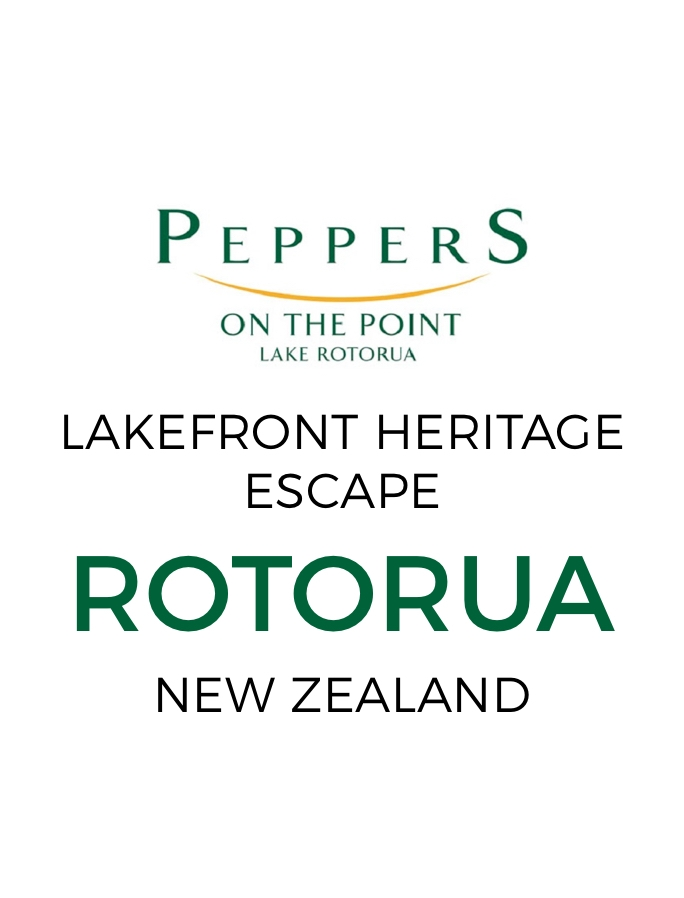 Romantic Peppers Rotorua Lakefront Escape with Three-Course Dinner & Daily Breakfast