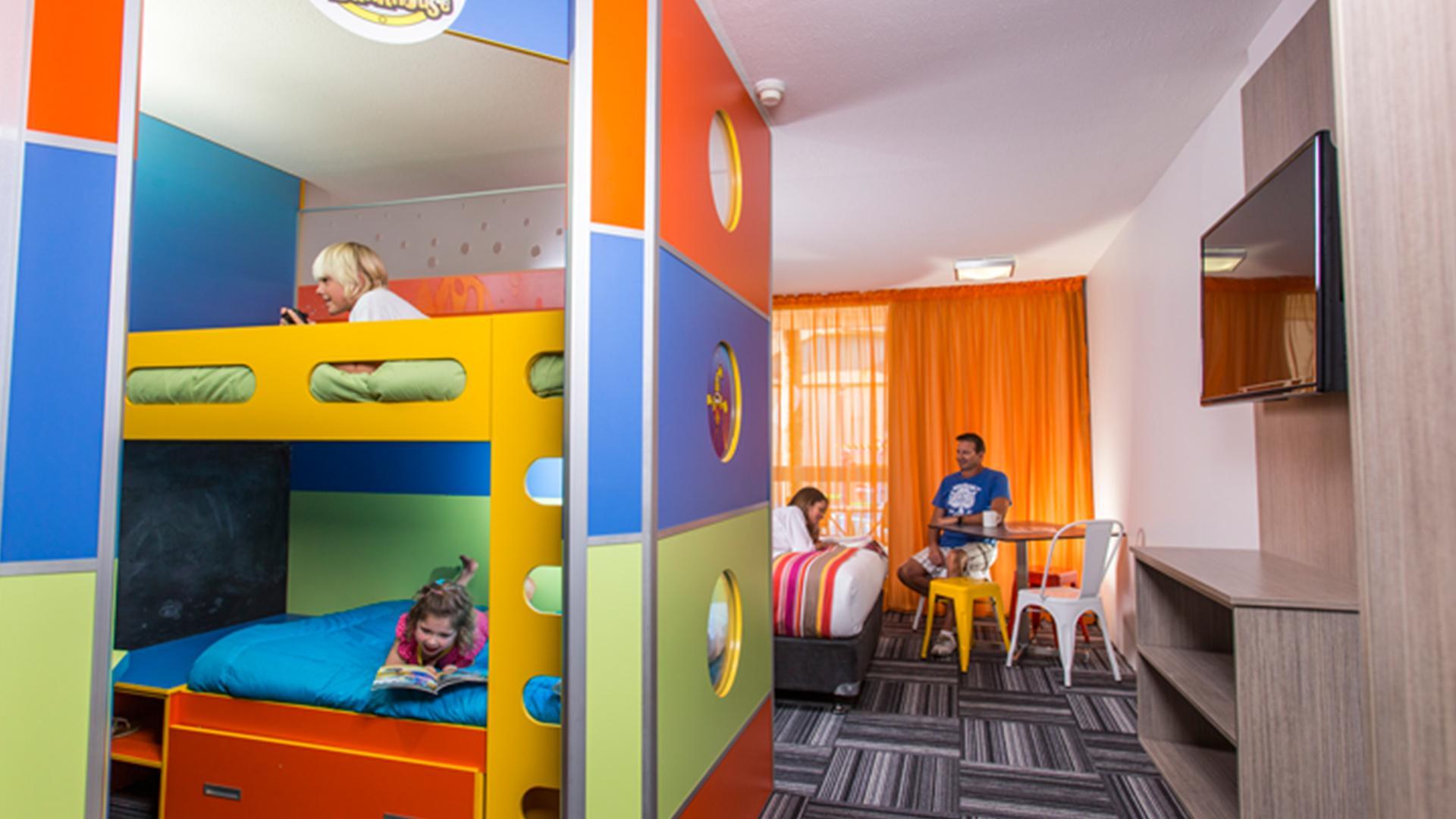 Superior Junior Bunkhouse image 1 at Paradise Resort Gold Coast by City of Gold Coast, Queensland, Australia