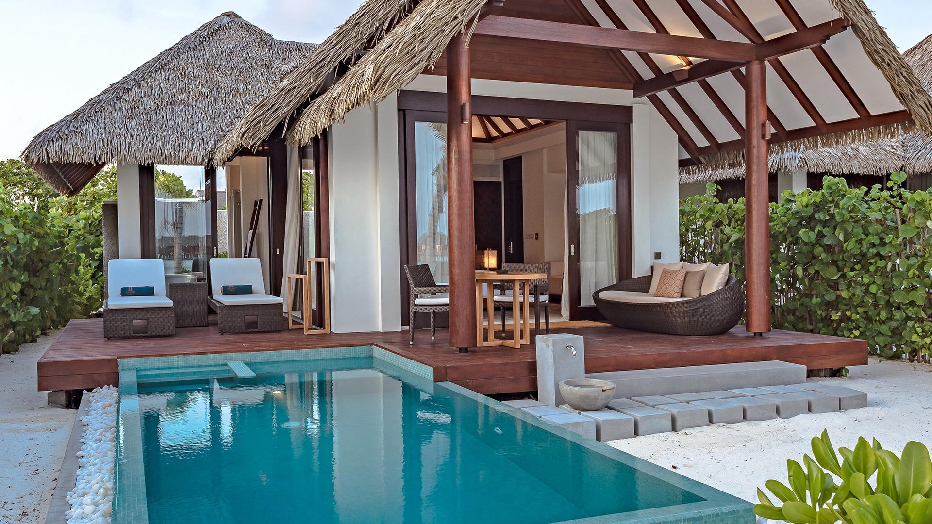 Pool Beach Villa image 1 at Heritance Aarah by null, North Province, Maldives