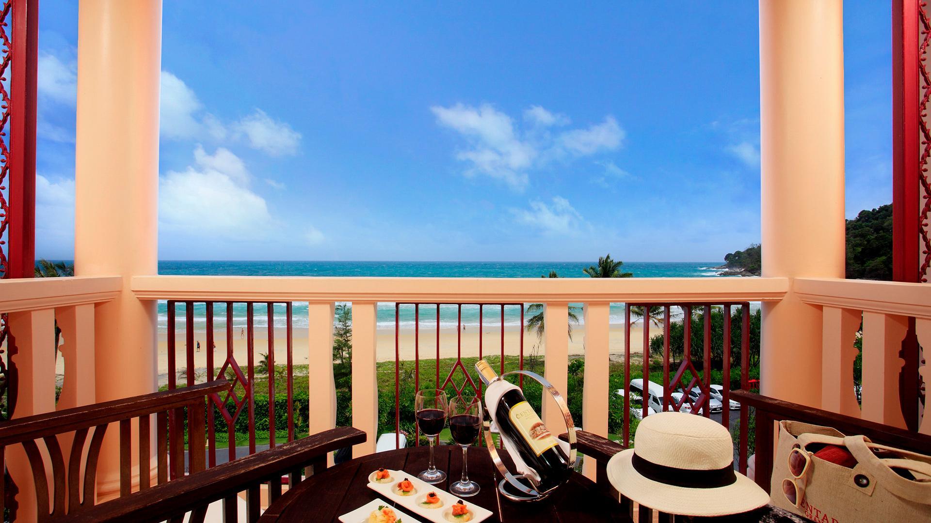 Deluxe Sea View Room image 1 at Centara Grand Beach Resort Phuket by อำเภอเมืองภูเก็ต, Phuket, Thailand