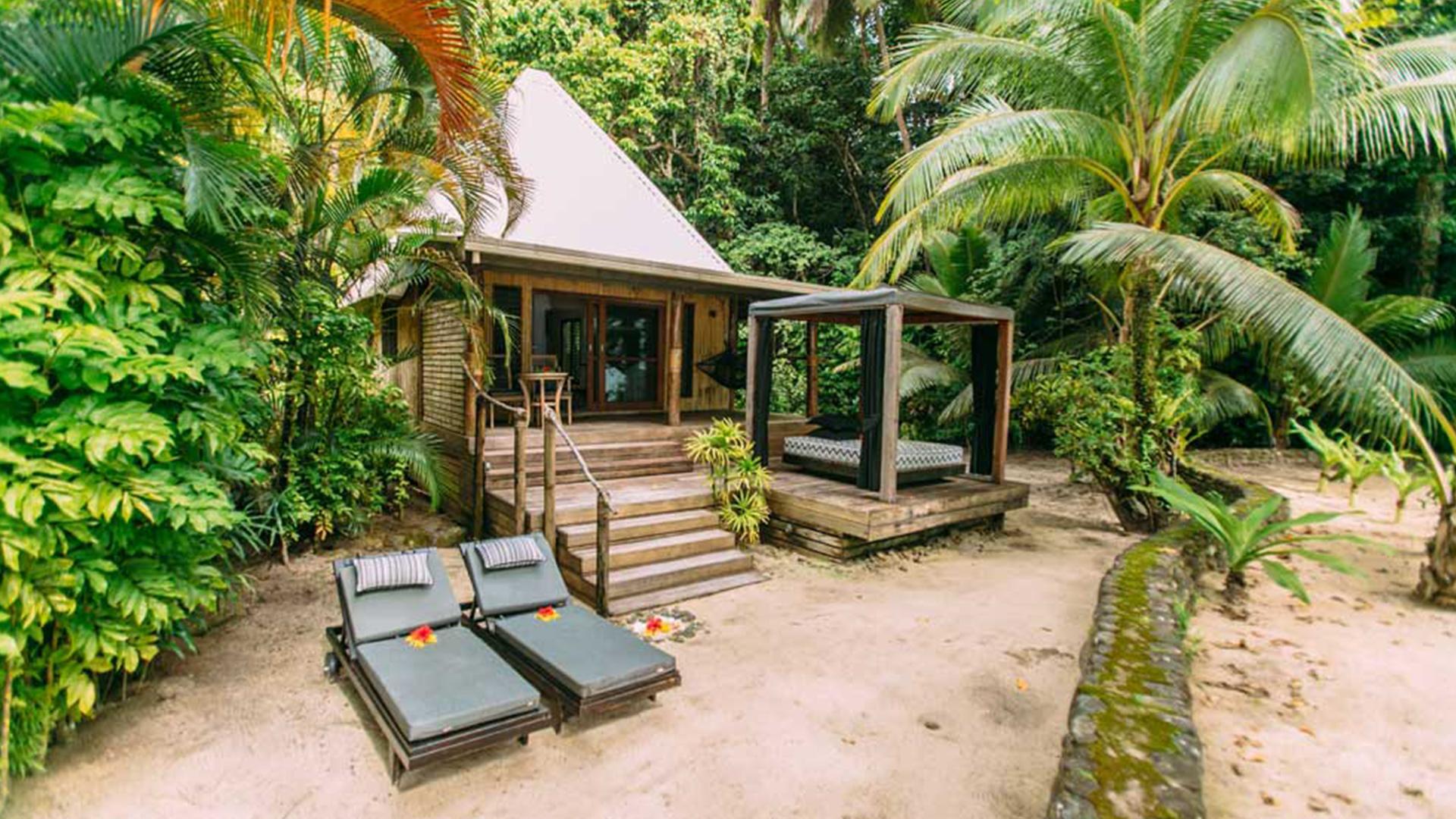 Honeymoon Bure image 1 at Qamea Resort and Spa Fiji by null, Northern Division, Fiji