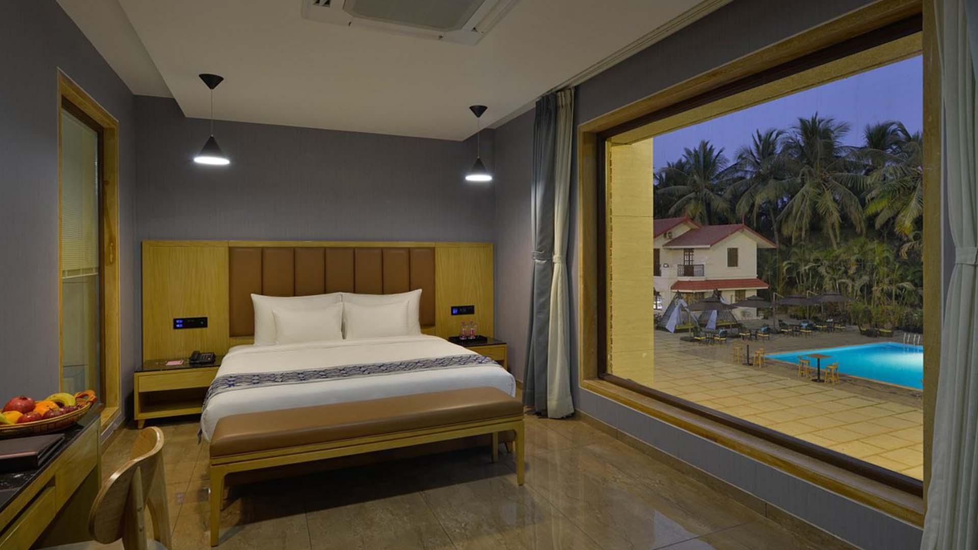 Premier Room  image 1 at Treat Beach Resort & Spa Gholvad by Thane, Maharashtra, India