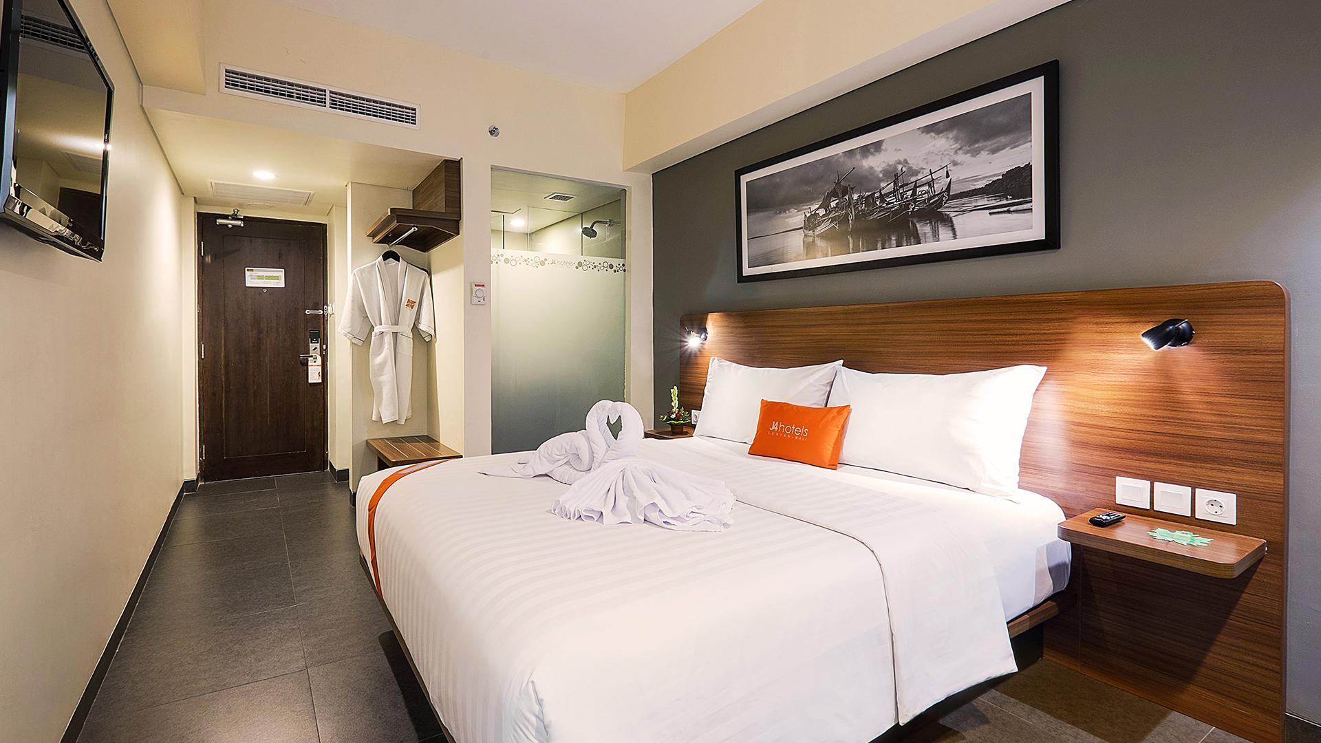 Superior Room image 1 at J4 Hotels Legian by Kabupaten Badung, Bali, Indonesia