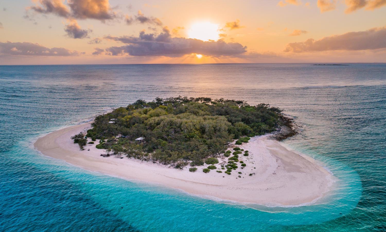 Wilson Island sunset