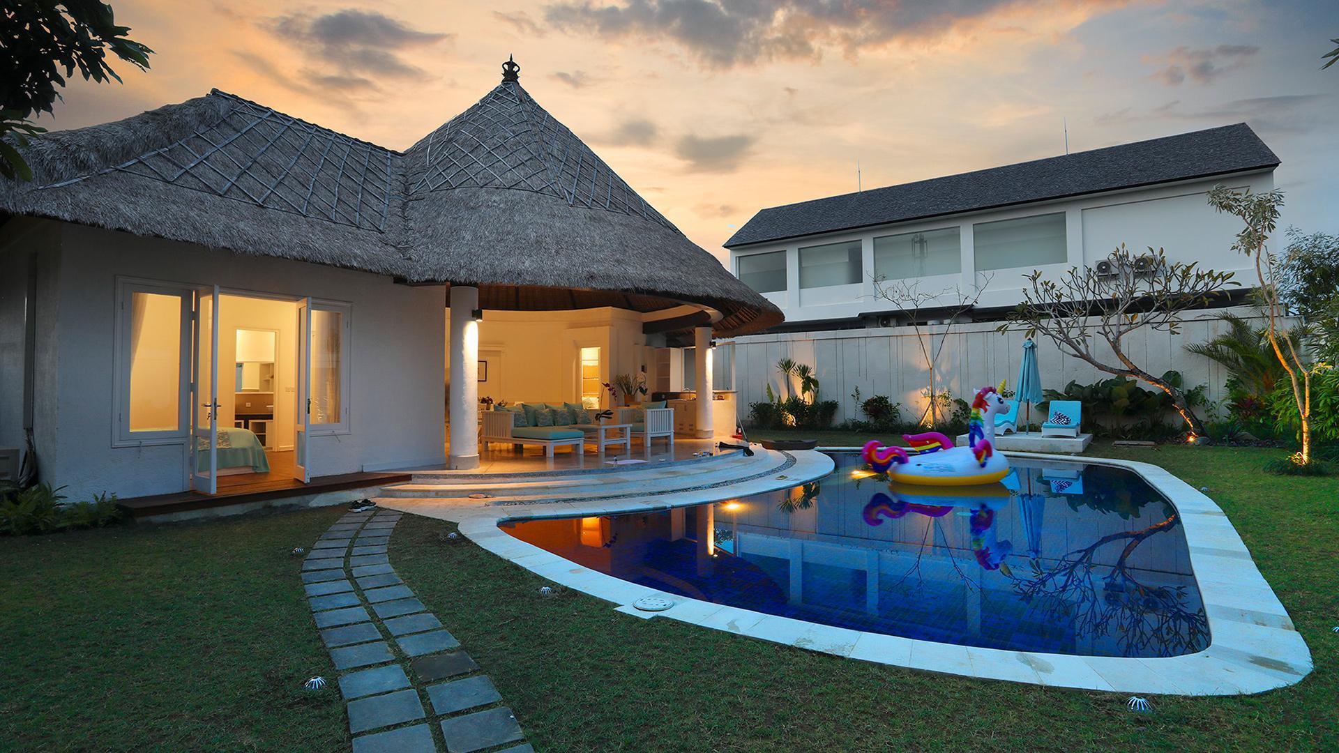 Three-Bedroom Pool Villa image 1 at Alam Boutique Resort by Kabupaten Badung, Bali, Indonesia