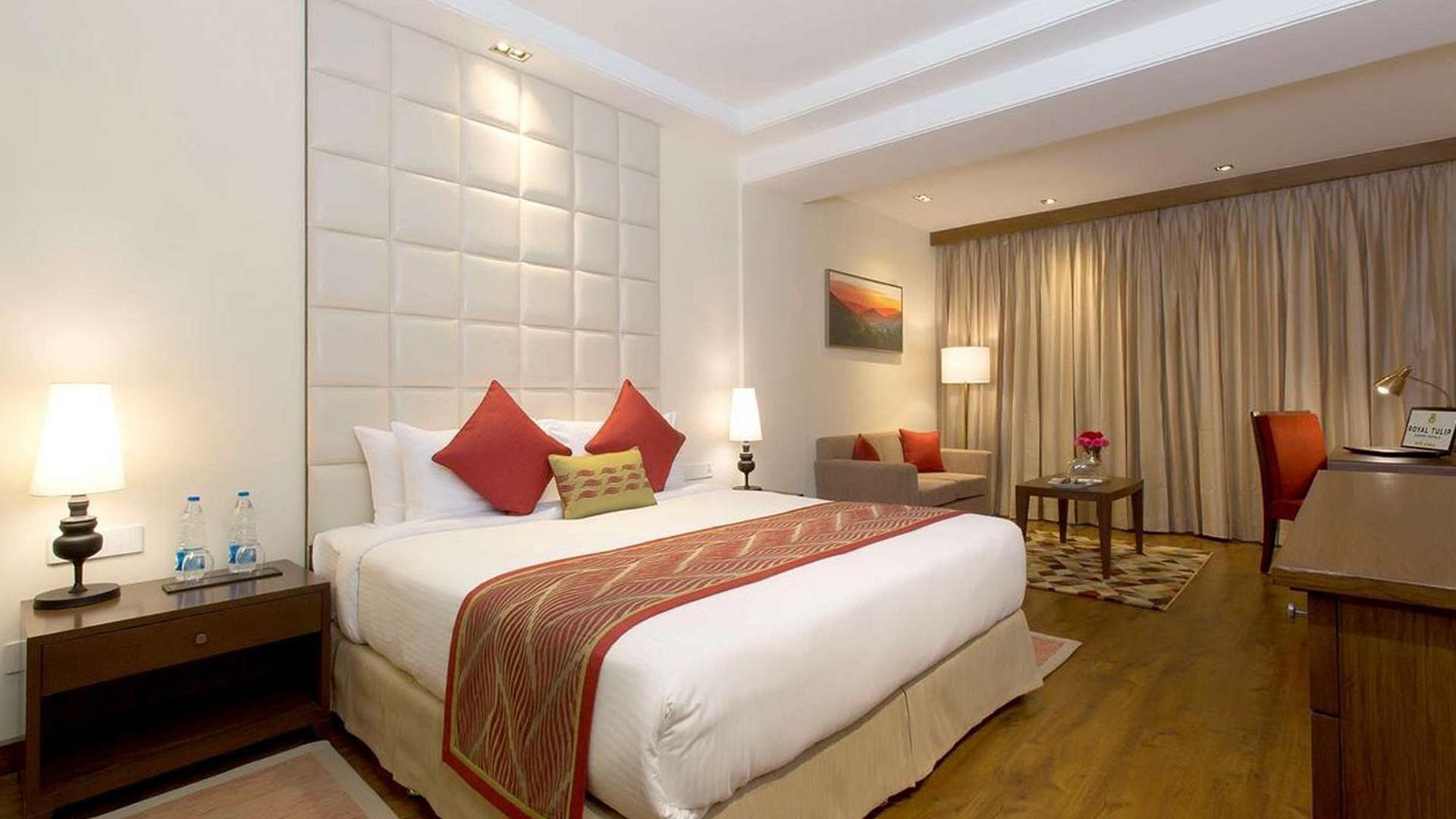 Luxury Room image 1 at Royal Tulip Shimla, Kufri Hills by Shimla, Himachal Pradesh, India