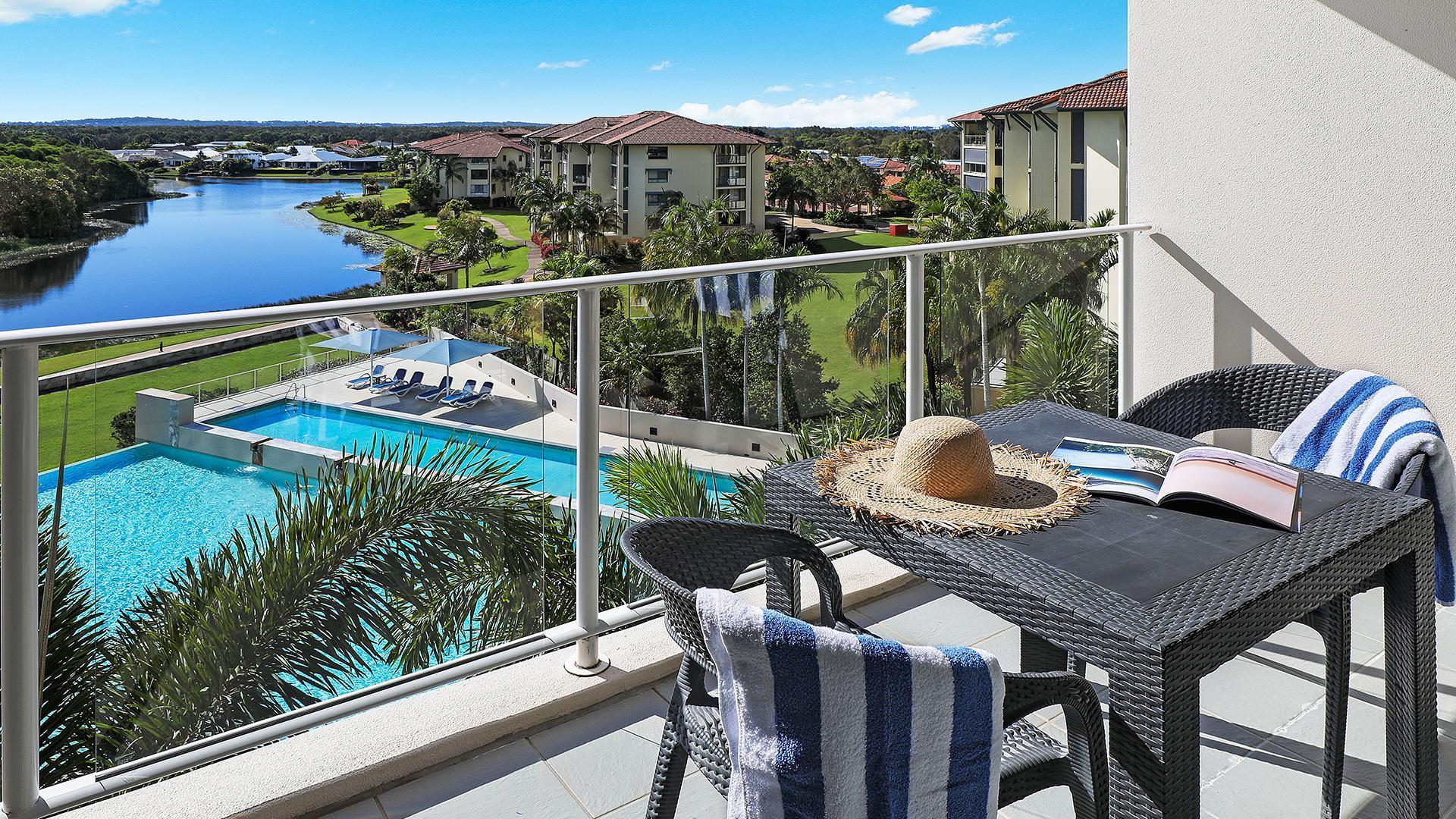 One-Bedroom Apartment image 1 at Pelican Waters Resort by Sunshine Coast Regional, Queensland, Australia