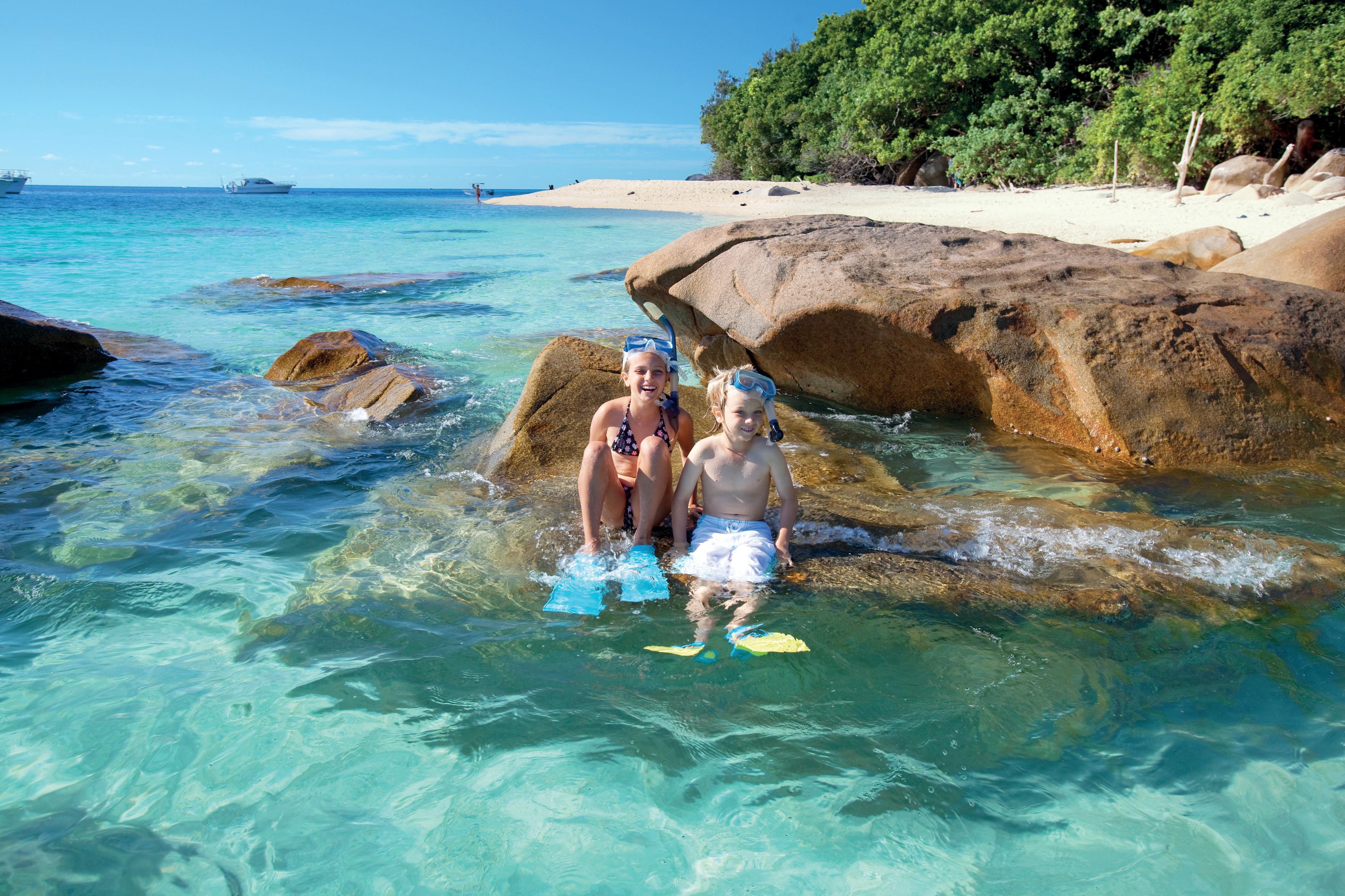 Family-friendly snorkelling fun