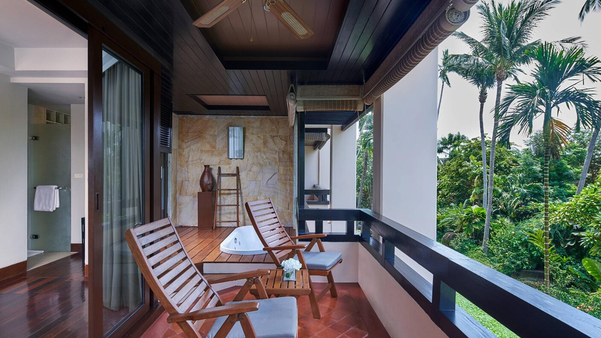 Deluxe Garden Room image 1 at Renaissance Koh Samui Resort & Spa by Amphoe Ko Samui, Chang Wat Surat Thani, Thailand