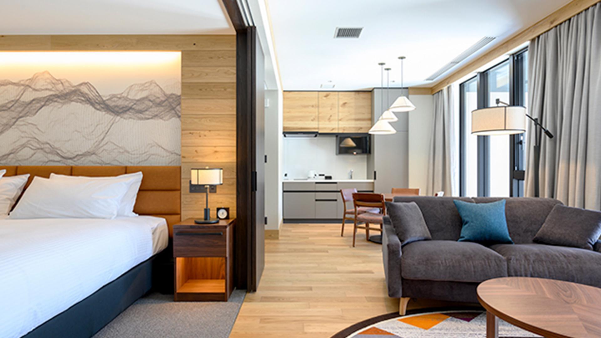 One-Bedroom Suite image 1 at Yu Kiroro by Yoichi District, Hokkaido, Japan