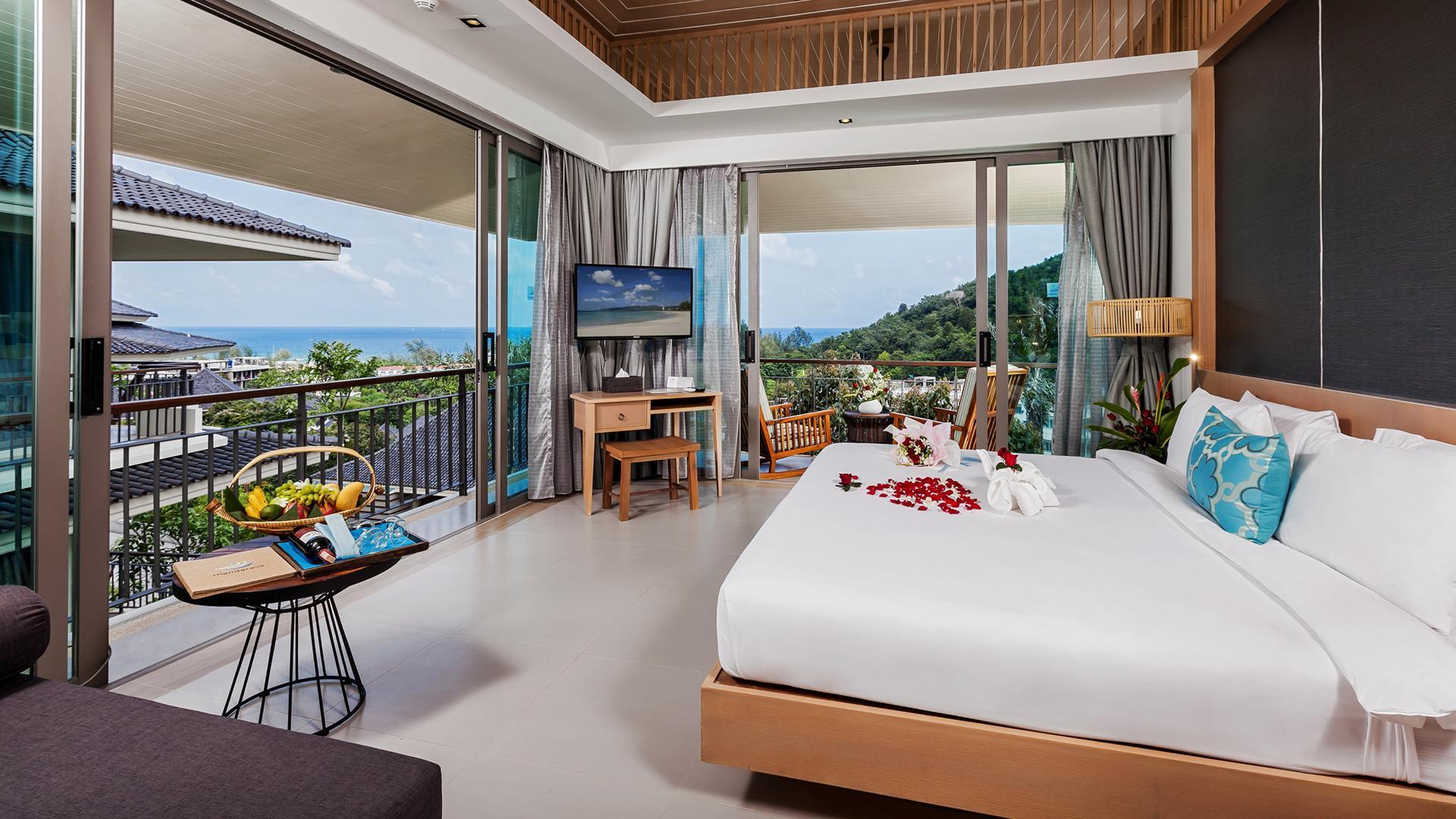 Panoramic Deluxe Room image 1 at Mandarava Resort and Spa Karon Beach by Amphoe Mueang Phuket, Chang Wat Phuket, Thailand