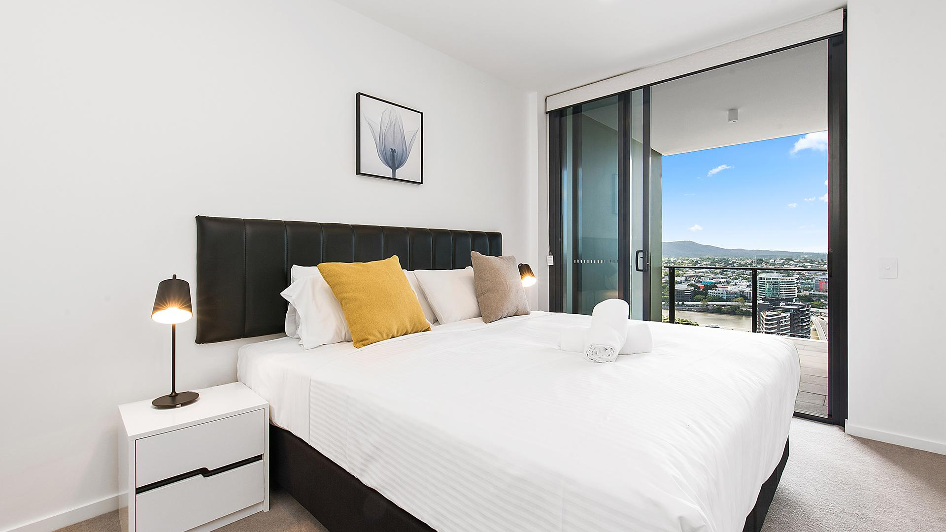 Two-Bedroom Apartment with City View image 1 at Arise Ivy & Eve Apartments by Brisbane City, Queensland, Australia
