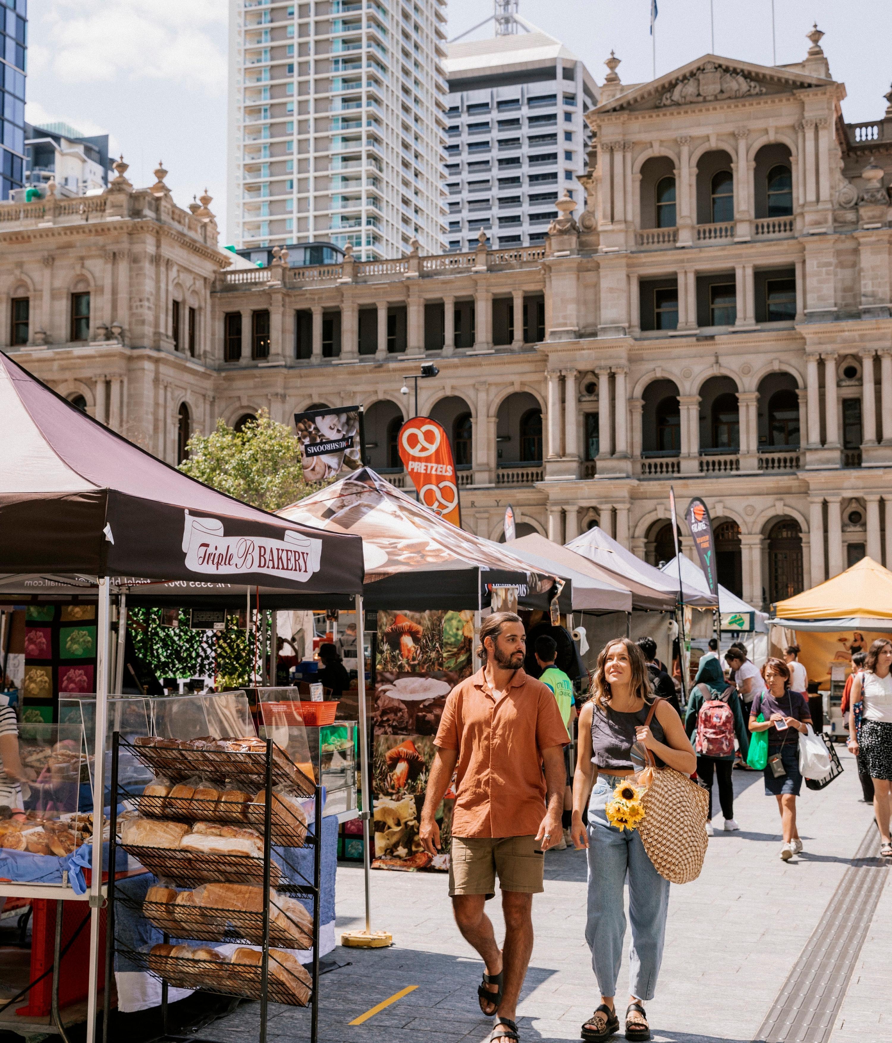 Brisbane City Markets