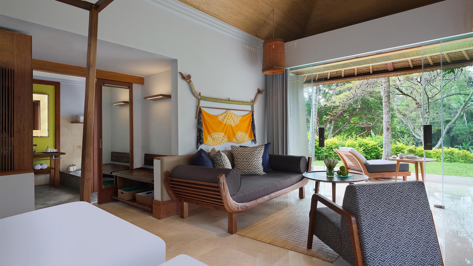 Heavenly Pool Villa image 1 at Maya Ubud Resort & Spa by Kabupaten Gianyar, Bali, Indonesia