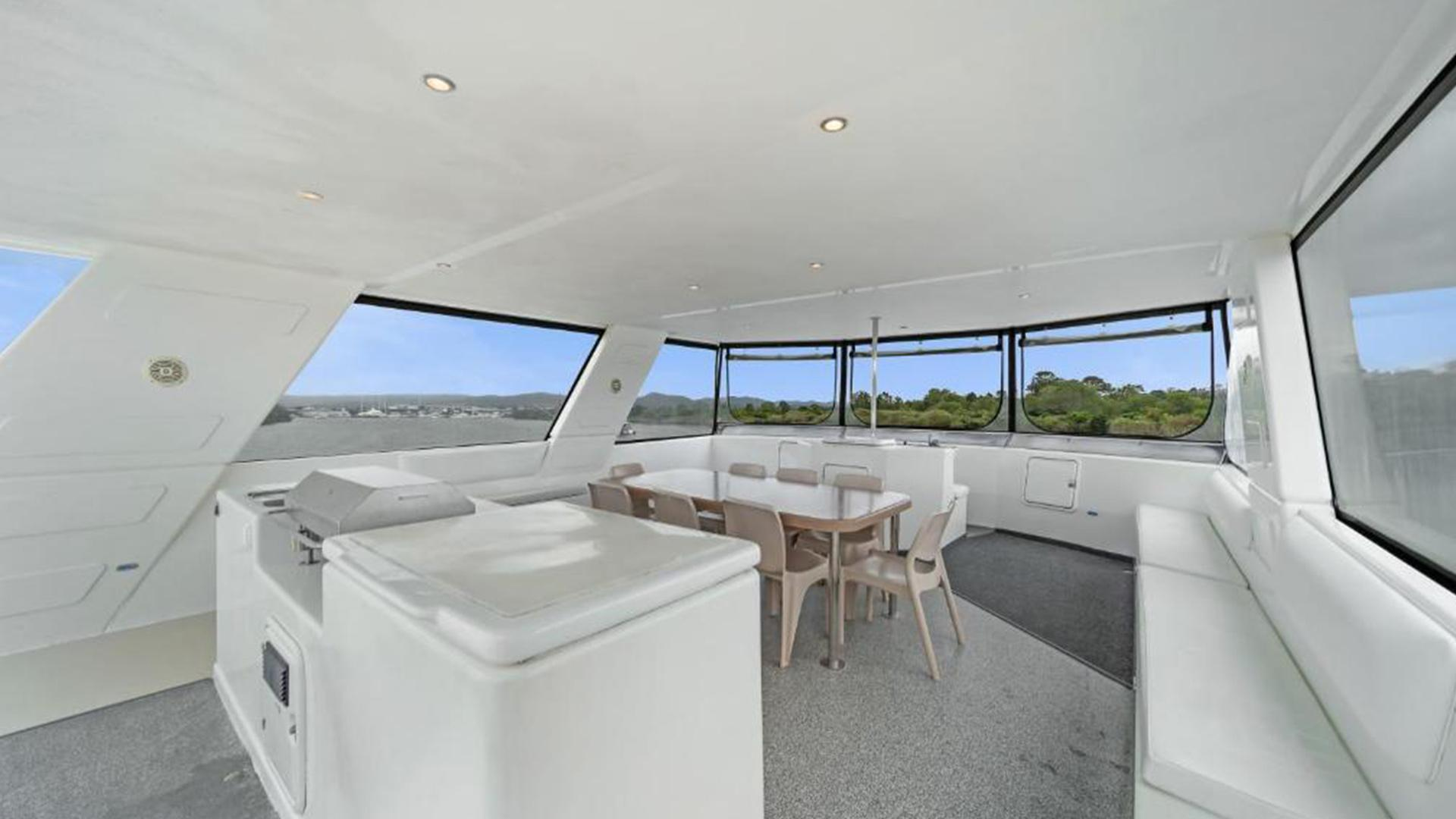 Aegean 60 Spa image 1 at Coomera Houseboats by City of Gold Coast, Queensland, Australia