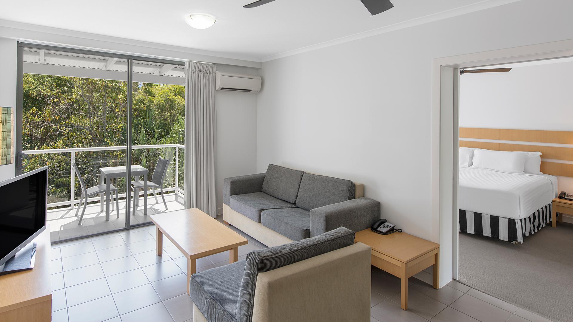 One-Bedroom Garden View Apartment image 1 at Oaks Port Douglas Resort May 2020 by Douglas Shire, Queensland, Australia